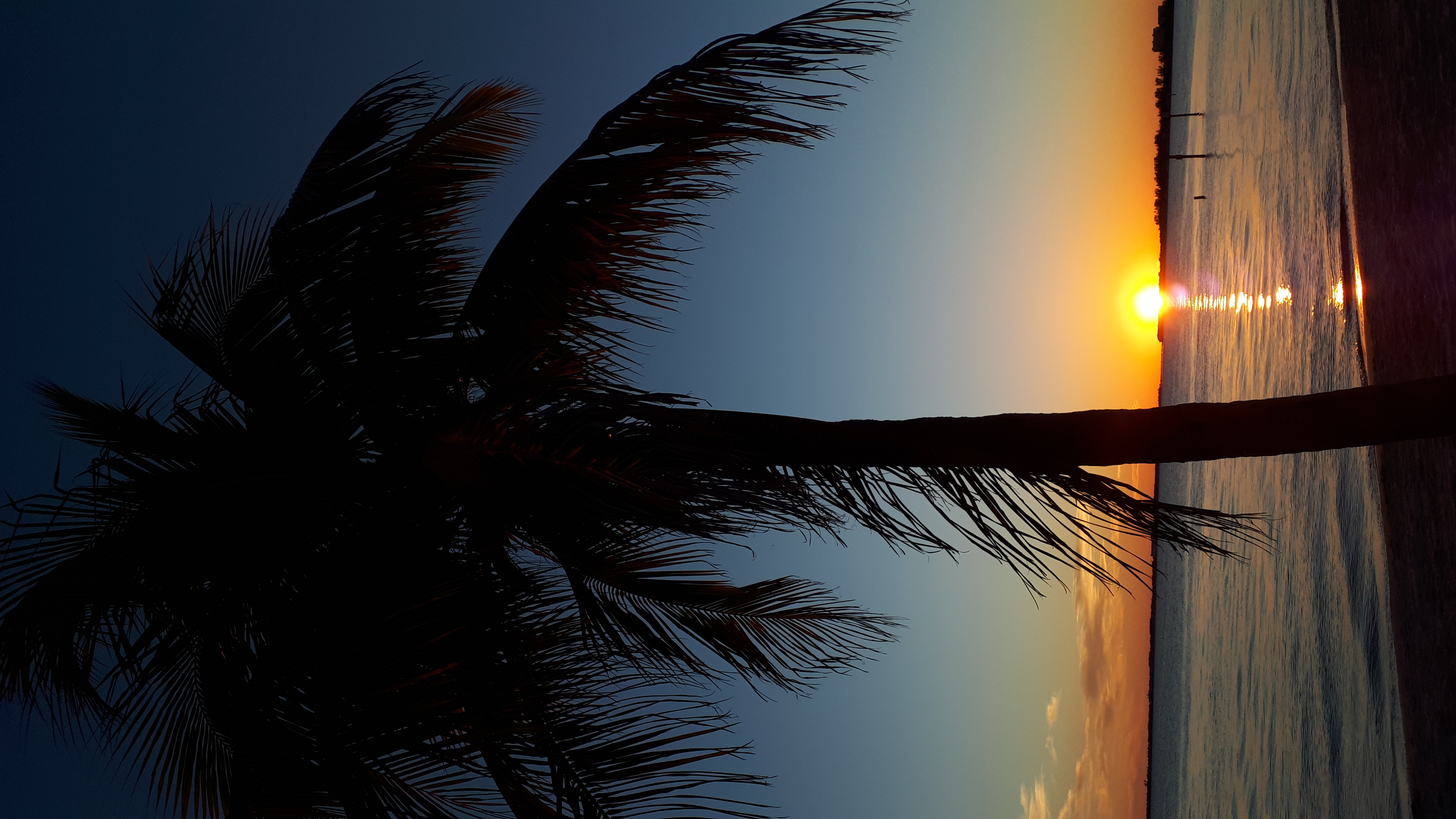 Sonnenuntergang am Strand von Cape Coral