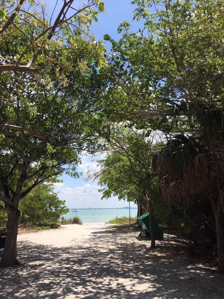Weg zum Sanibel Beach