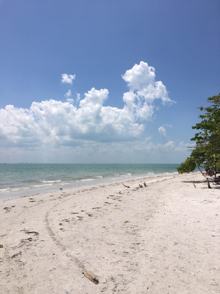 Bowman Beach auf Sanibel Island