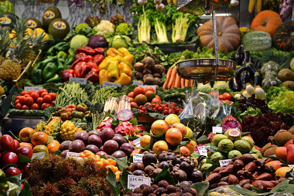 Frisches Gemüse auf dem Farmers Market in Cape Coral