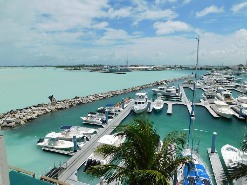 Hafen von Cape Coral voll mit Booten