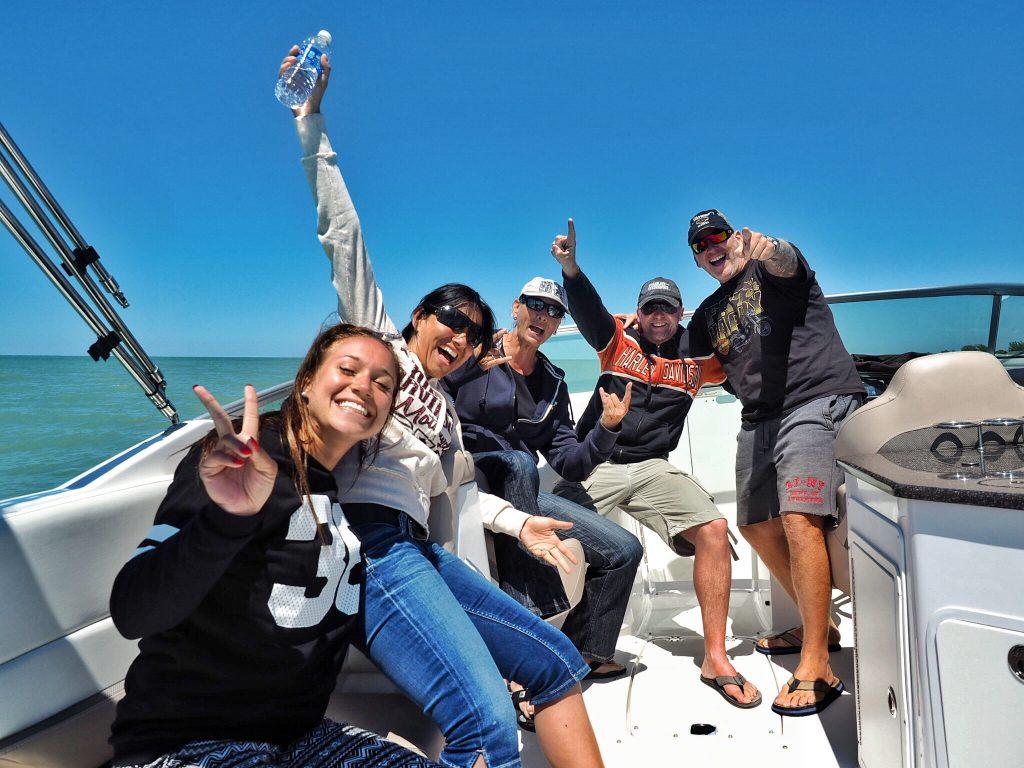 Bootstour mit einem unserer Mietboote Florida