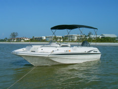 Hurricane Sun Deck 21 ft.,  2002