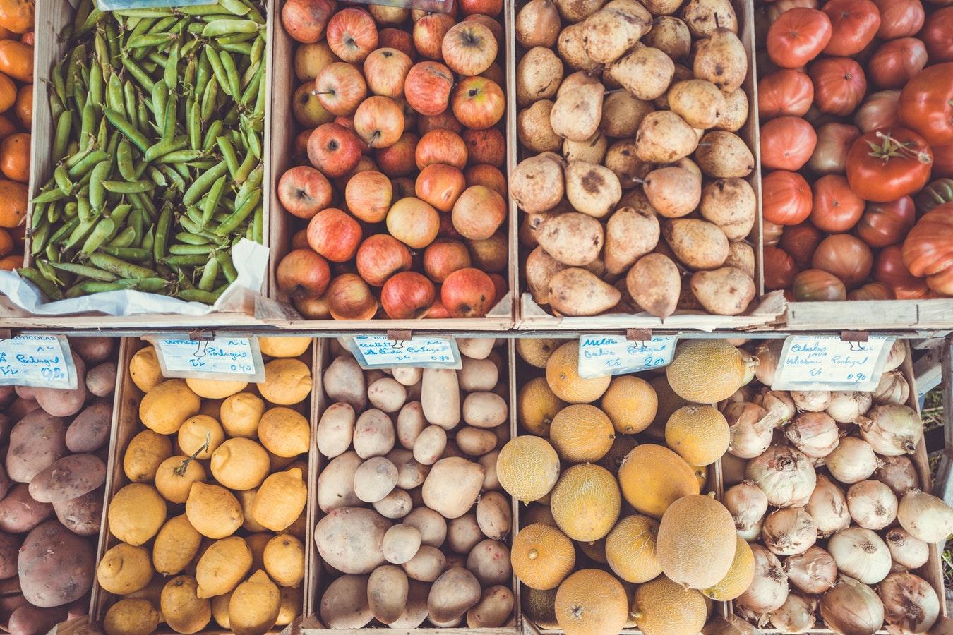 Gemüse auf Farmers Market